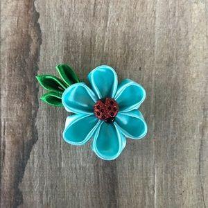 Other - Kanzashi Flower hair clip